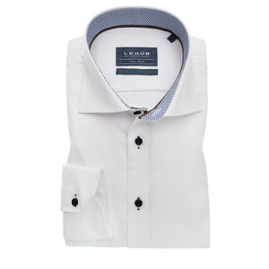 White non-iron slim fit shirt with extra long sleeves 0139140-910-170-650