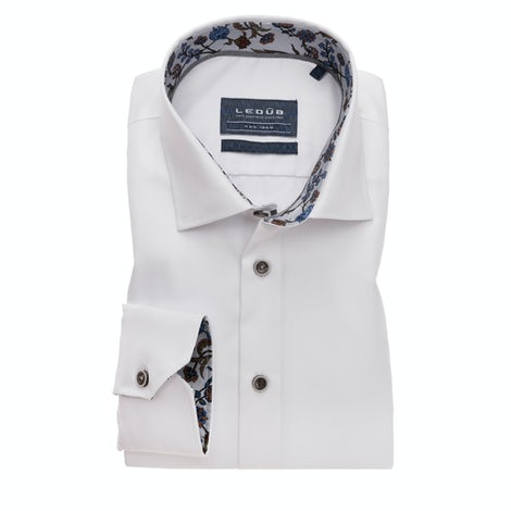 White non-iron modern fit shirt 0139331-910-210-240