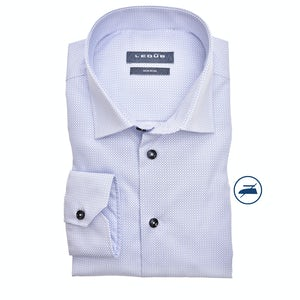 White print non-iron modern fit shirt 0139711-160-000-000