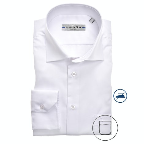 White non-iron regular fit shirt 0313508-910-000-000