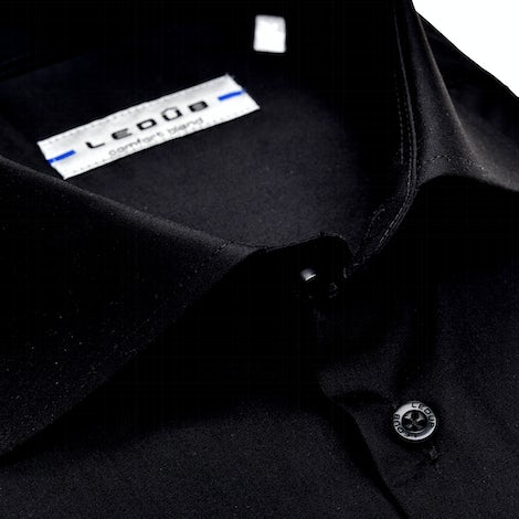 Black modern fit shirt 0323502-290-000-000