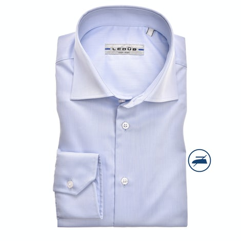 Light blue non-iron modern fit shirt 0323518-120-000-000