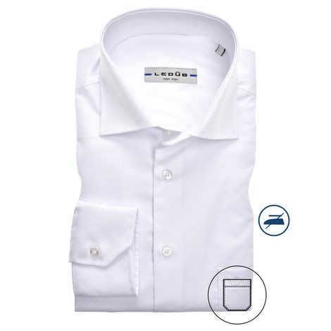 White non-iron modern fit shirt extra long sleeve 0323708-910-000-000