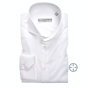 White modern fit stretch shirt 0326510-910-000-000