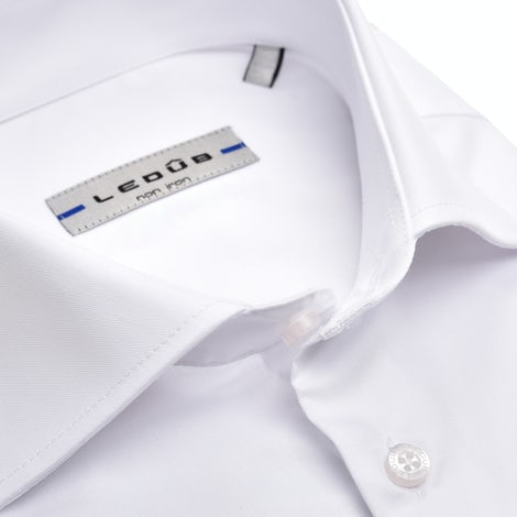 White non-iron slim fit shirt extra long sleeve 0343718-910-000-000