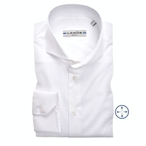 White slim fit stretch shirt 0346510-910-000-000