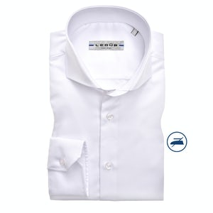 White non-iron slim fit shirt 0346518-910-000-000